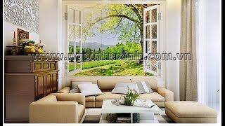 NGÔI NHÀ XINH - mẫu thiết kế nội thất phòng khách  Nhà Anh Toản An Phú Quận 2