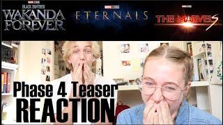 Marvel Phase 4 Teaser REACTION