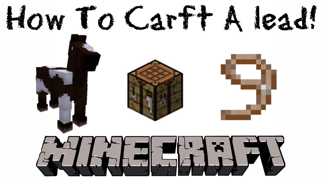 how to craft how to craft a lead minecraft 1 6 1 easy hd 2205