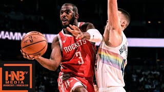 Houston Rockets vs Denver Nuggets Full Game Highlights | 11.13.2018, NBA Season