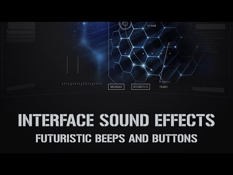 Interface Sound Effects, Beeps and Buttons, Clicks, Multimedia and App Sound Library
