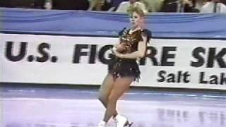 Tonya Harding - 1990 U.S. Figure Skating Championships, Ladies' Free Skate