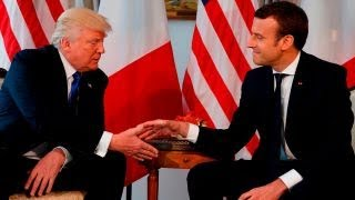 Can Trump, Macron find any common ground on Syria?