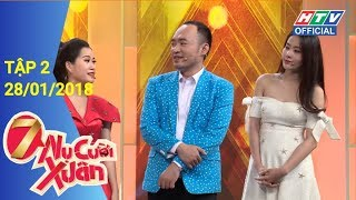 HTV 7 NỤ CƯỜI XUÂN | 7NCX #2 FULL | 28/1/2018