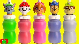 Paw Patrol Slime Surprises Learn Colors Nick Jr.