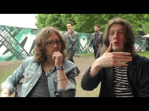 Blossoms interview - Joe and Tom (part 1)