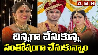 Hero Nikhil about his marriage experience during Covid tim..