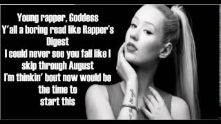 Iggy Azalea - Goddess (Lyrics)