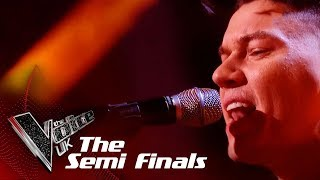 Jamie Grey Performs 'Say Something': The Semifinals | The Voice UK 2018