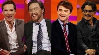 The Graham Norton Show S18E09 -  Johnny Depp, Benedict Cumberbatch, James McAvoy, Daniel Radcliffe