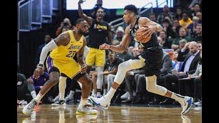 Lebron James vs Giannis Antetokounmpo - All 1 On 1 Plays | 2019-20 NBA Season