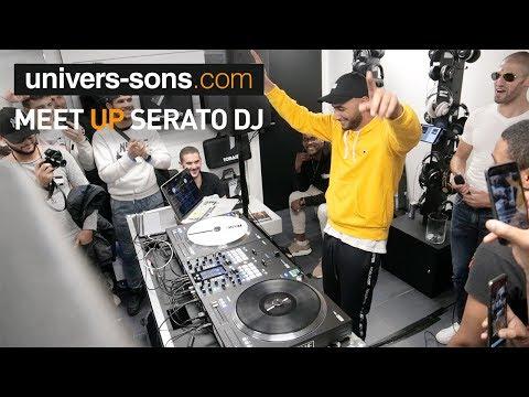 Vidéo Meet UP Serato - DJ Hamma Set complet chez Univers Sons