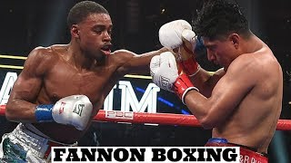 ERROL SPENCE DOMINATES MIKEY GARCIA IN ONE-SIDED BOXING LESSON |  47,525 IN ATTEND IN DALLAS - YouTube
