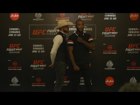 Cerrone vs Edwards i Saint Preux vs Pedro twarzą w twarz przed UFC FN 132