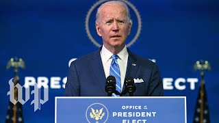 Biden announces his $1.9 trillion relief plan, which includes $2,000 stimulus checks