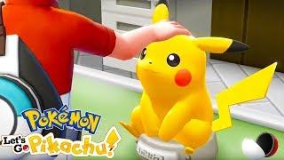 PIKACHU Is My DAD   Pokémon Let's Go Pikachu #1