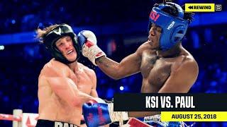 FULL FIGHT   KSI vs. Logan Paul (DAZN REWIND)