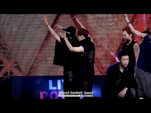130601 Y-STAR Live Power Music - Wolf Baekhyun fancam