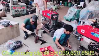 Mùa hè người dân đua nhau đi mua máy nổ lắp đề cót  cho máy phát điện