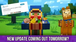 """Minecraft PS4 - New Update Coming Out Tomorrow? - What Is The """"Seecret Friday Update!"""""""