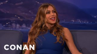 "Sofia Vergara: ""It's Dangerous To Be A Stripper""  - CONAN on TBS"