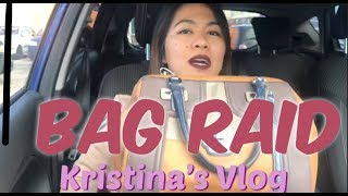 WHAT'S IN MY BAG? | BAG RAID INSIDE THE CAR | PINAY LIVING IN ITALY