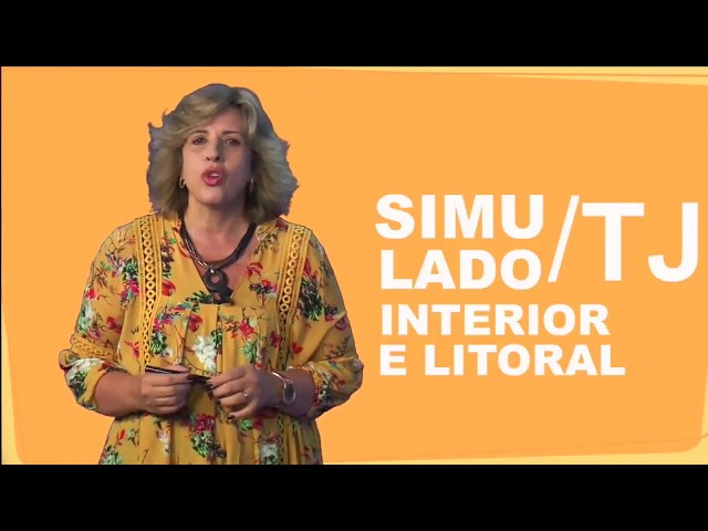 [Simulado TJ/Interior e Litoral - Completo com todas as disciplinas]