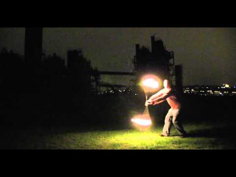 Fire Poi: Project Noah & Chase | Music: Logistics - Eastern Promise