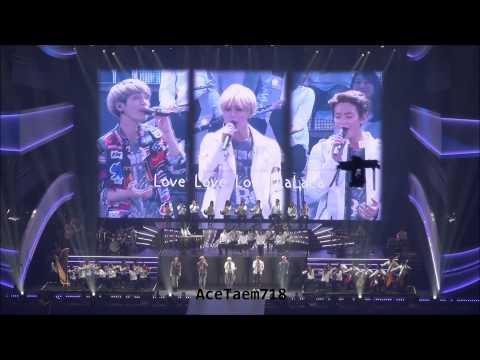 150315 SHINee TOKYO DOME - LOVE, ending ㅠㅠ