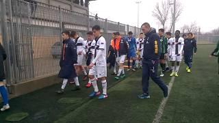 Under 16 5^ Rit. Parma-Sassuolo 1-3, 43' st gol di Poligani (esultanza), triplice fischio
