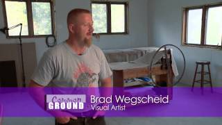 Common Ground 604 - Brad Wegscheid Raku Grant