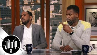 Stephen Jackson and Amin Elhassan rank their top NBA point guards | The Jump | ESPN