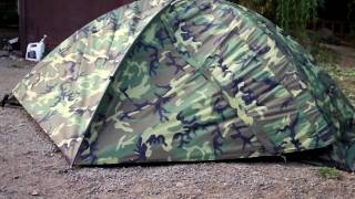 Bug Out Gear- Military Tent Eureka TCOP