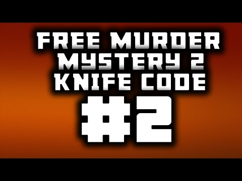 Free Murder Mystery 2 Codes Updated January 2017 Roblox