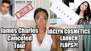 Jaclyn Cosmetics is a FLOP?! | James Charles Cancels Sisters Tour | Makeup Quickie with Nikki