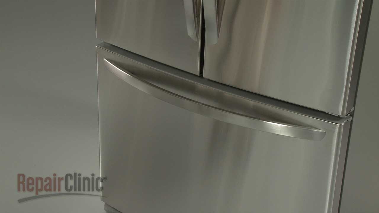 Refrigerator Troubleshooting Repair Refrigerator Handle