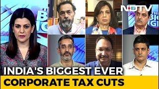 The Big Fight | New Corporate Tax Cuts: Big Move To Kick Start The Economy?