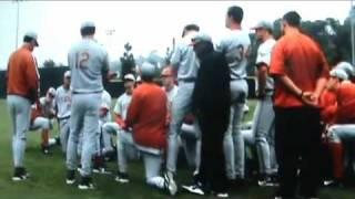 Texas Baseball Coach Augie Garrido Flips out