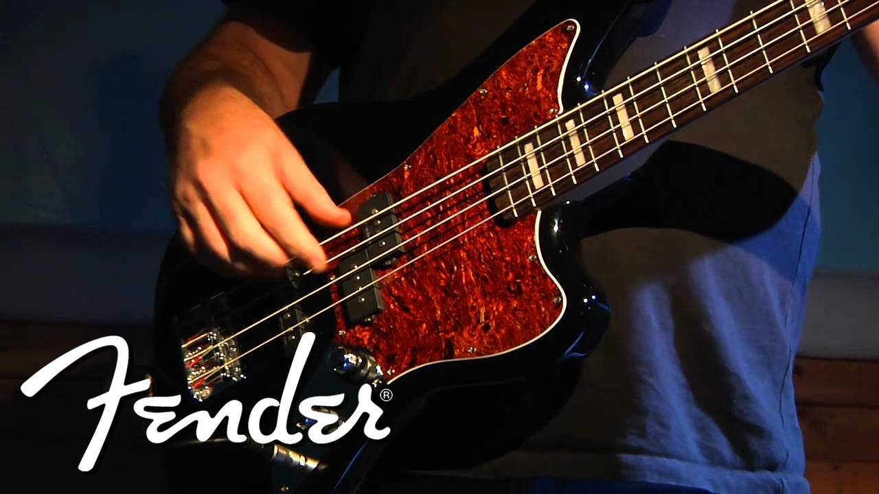 squier vintage modified jaguar bass demo two youtube. Black Bedroom Furniture Sets. Home Design Ideas