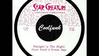 First Touch & Yvonne Gage - Tonight's The Night (2018)