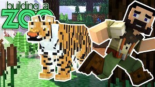 I'm Building A Zoo In Minecraft! - Tiger Exhibit And Contest Winner! - EP21