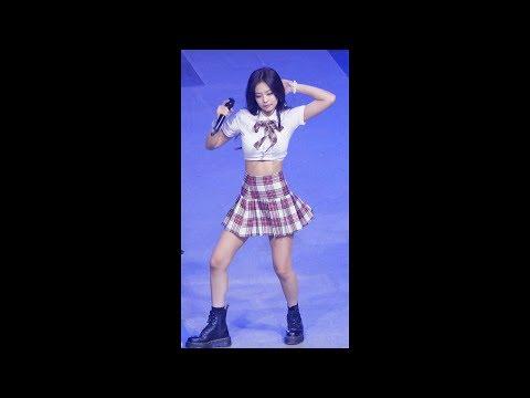 180524 블랙핑크 '불장난' 4K 제니 직캠 BLACKPINK Jennie fancam - PLAYING WITH FIRE (한양대 축제) by Spinel
