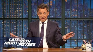 Seth Meyers' Wife Gave Birth in Their Apartment Lobby
