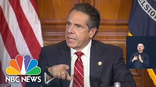 Cuomo Defends Closing New York City Schools As Covid Cases Rise | NBC News NOW