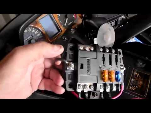 installing extra fuse block in gold wing 1500 motorcycle. Black Bedroom Furniture Sets. Home Design Ideas