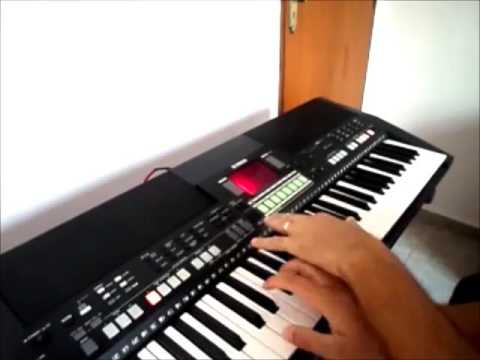 Como eu toco ARRASTAPÉ  na bateria do teclado#3-Ricardo Brito