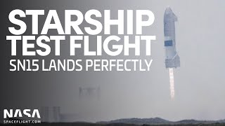 Starship SN15 Test Flight & Landing