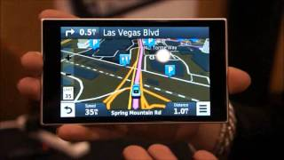 /garmin nvi 3597 lmthd hands on demo at ces 2013
