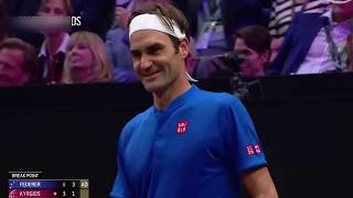 Insane Tennis Skills Laver Cup 2018 Best Points