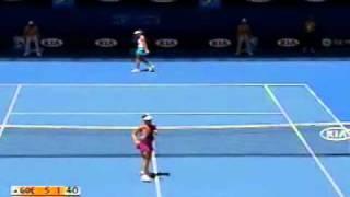 Ana Ivanovic vs Julia Goerges 2009 AO Highlights